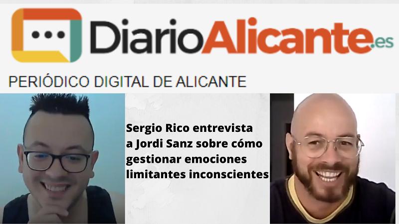Hoy me entrevista Sergio Rico del diario de Alicante